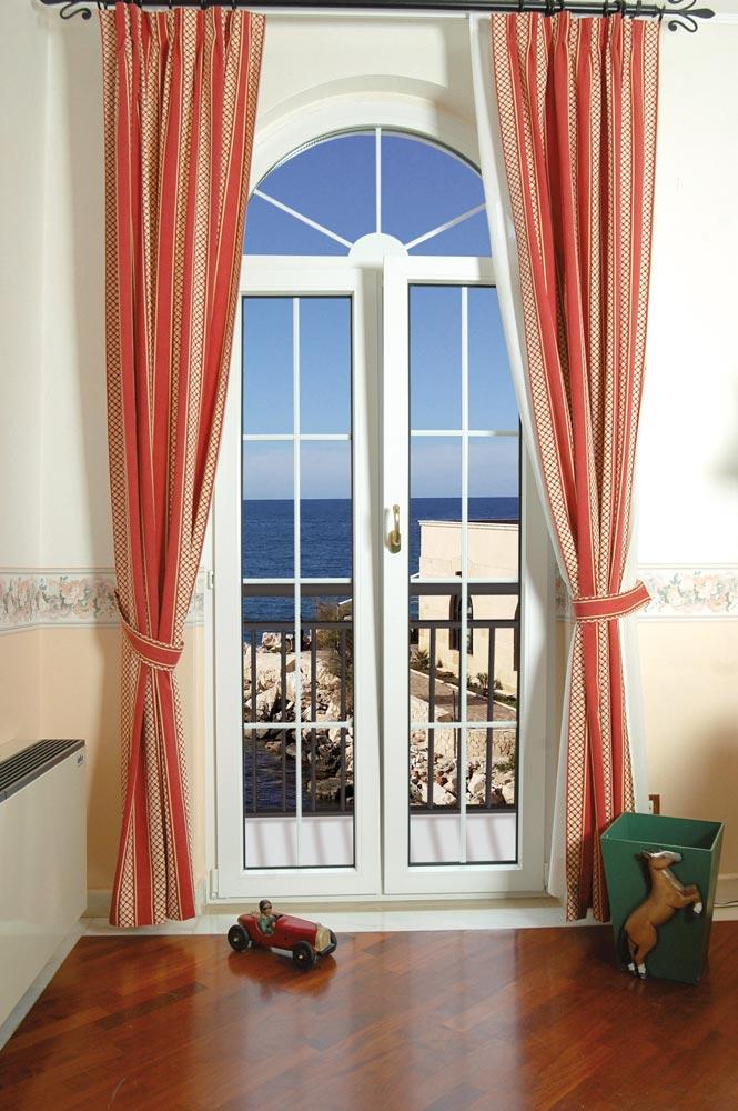 Arco obl for Porta balcone pvc prezzi